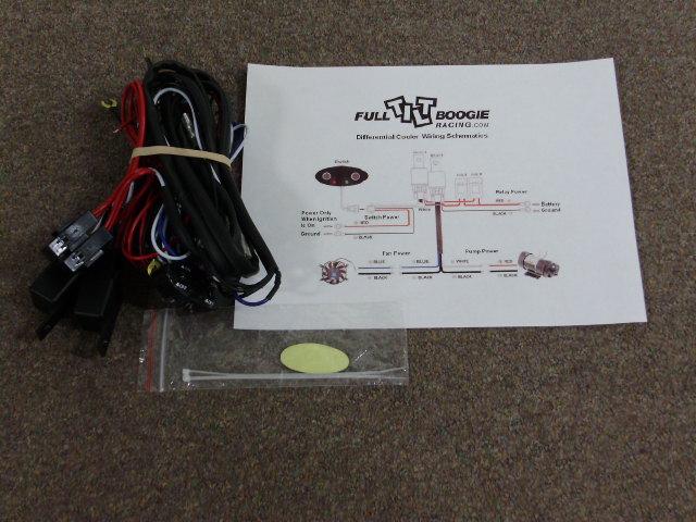 FT 1380 - Wiring harness with relays and on/off switches