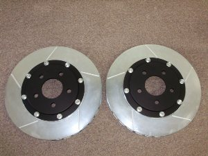 "FT 8000 HD....SN-95 13"" FRONT HEAVY DUTY ROTOR SET"