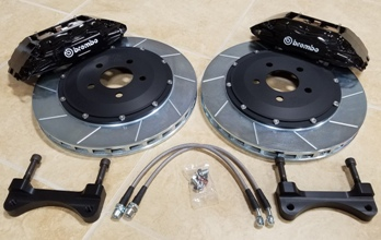 "FT 9490 - SN-95 14"" Brembo Front Heavy Duty Brake Conversion Kit"