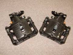 FT 9645 - S-197 Rear Caliper pair, Carbon weave finish