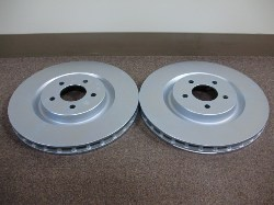 S-197 OEM Brembo Front Brake Rotor Zinc Plated