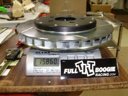 "FT 9900 - S-197 12.5"" GT Rotor Weight"