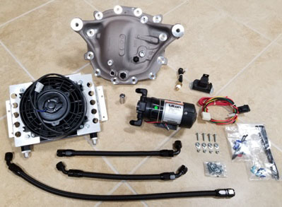 FT 570 - S550 Diff Cooler Kit