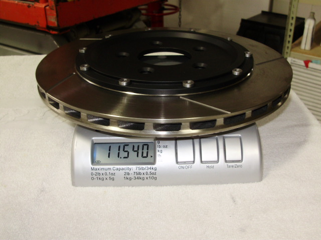 "S-197 13"" Rear Floating Rotor Weight"